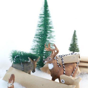 Adventskalender basteln: ein Winterwunderland voller Überraschungen