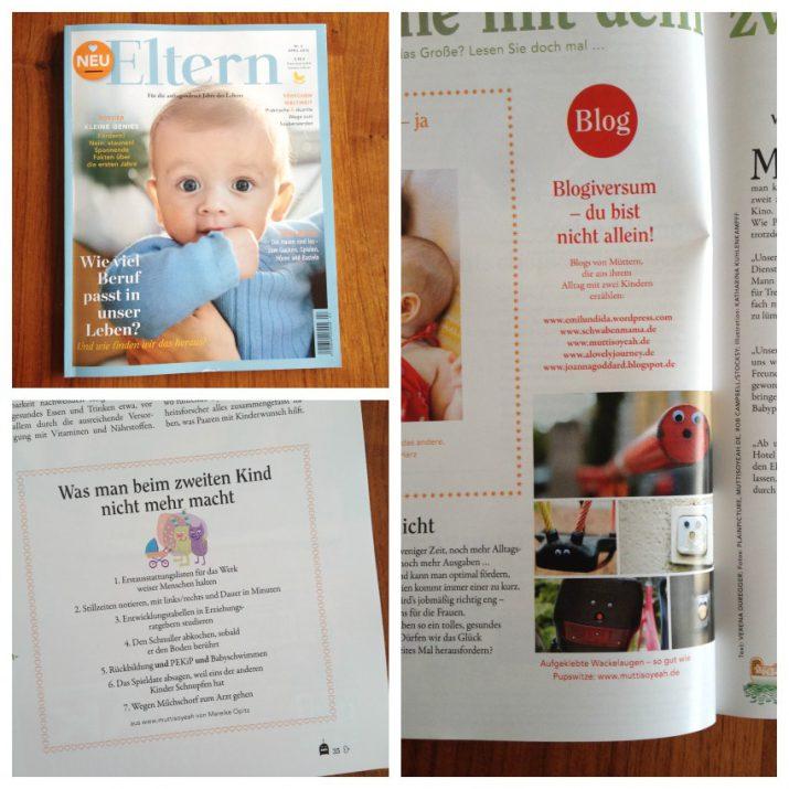 Zeitschrift Eltern