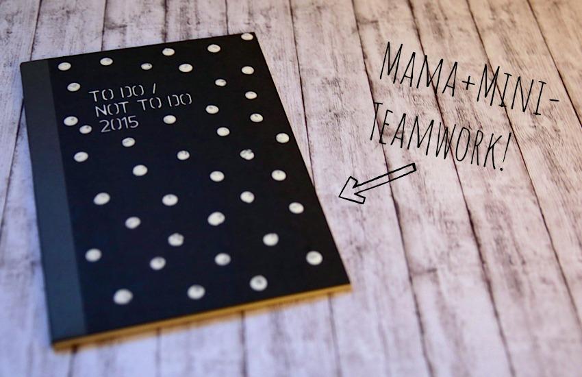 Notizbuch gute Vorsätze