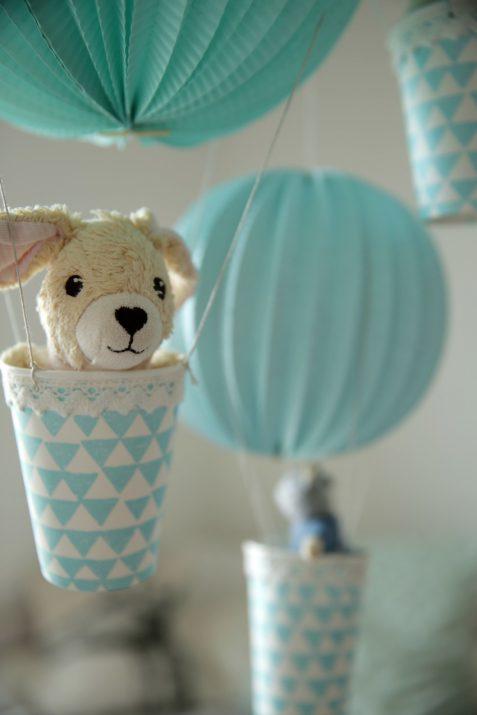 Heißluftballons Kinderzimmer